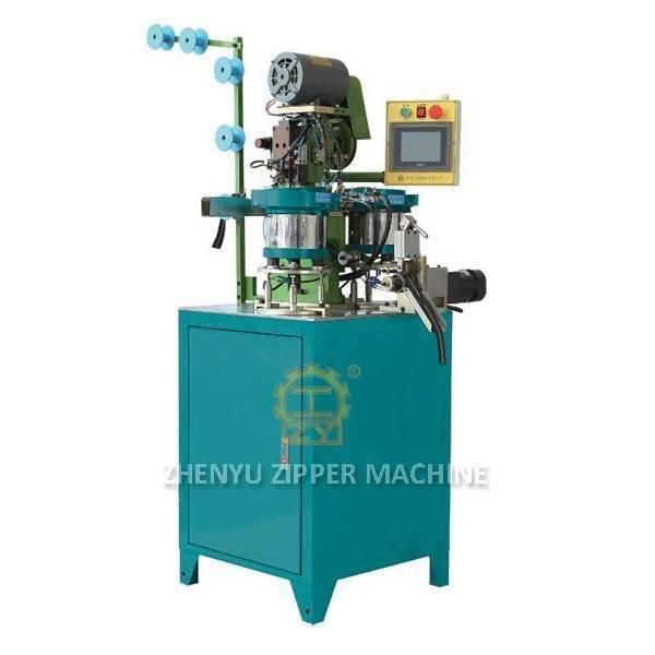 Auto Pin And Box Pressing Machine for Metal Zipper ZY-706M-B