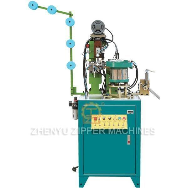Full-auto Nylon Zipper Pin-box Setting Machine ZY-706N