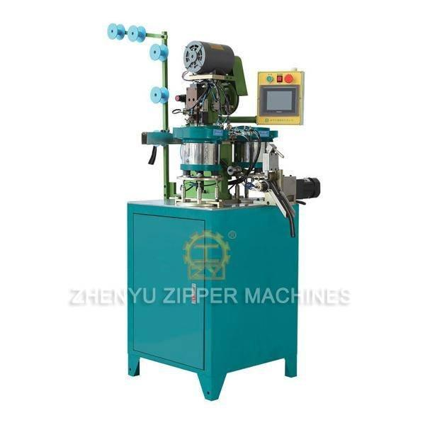 Automatic Nylon Zipper Pin-box Pressing Machine (II) ZY-706-B