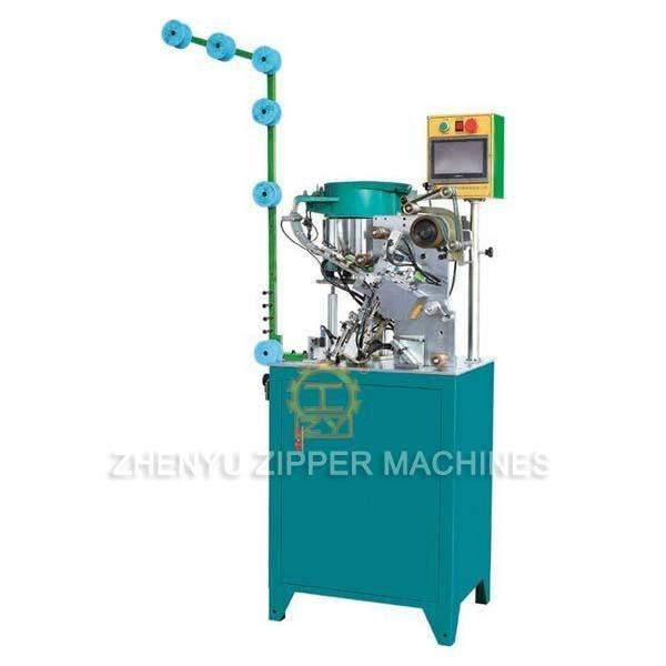 Automatic Invisible Zipper Slider Mounting Machine ZY-705I