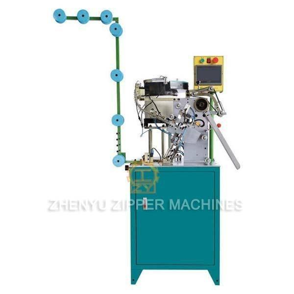 Automatic Metal Zipper Slider Mounting Machine ZY-705