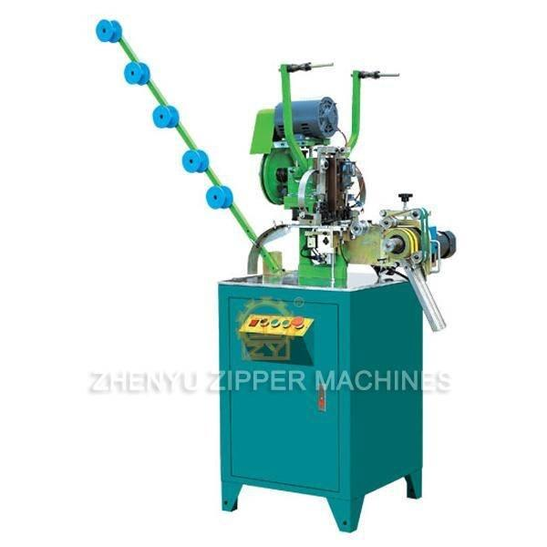 Full-auto Nylon Zipper Top Stop Machine ZY-406N