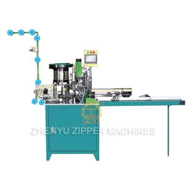 ZY-802 Полностью автоматическая нейлоновая резка, установка ползунка, Ультразвуковая и верхняя стоповая машина