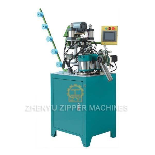ZY-409M Полностью автоматические металлические частицы Двойная верхняя стоповая машина