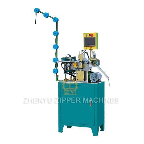 Auto Zipper H-Shaped Multiple Particles Bottom Stop Machine (III) ZY-704M-B