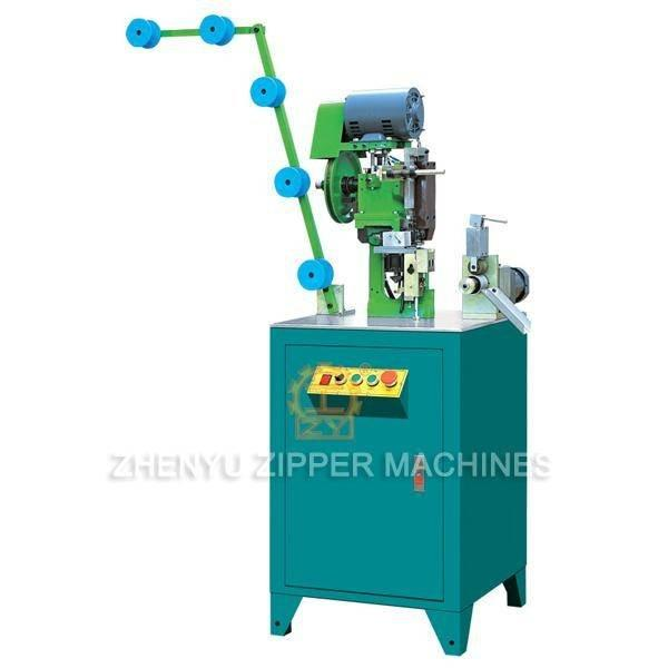 Automatic Metal Bottom Stop Zipper Machine