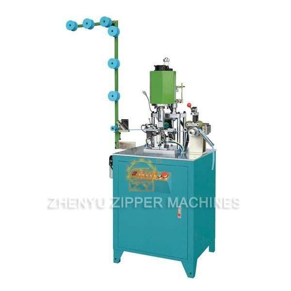 Fully Automatic Nylon Zipper Top & Bottom Teeth Welding Machine ZY-201N-D
