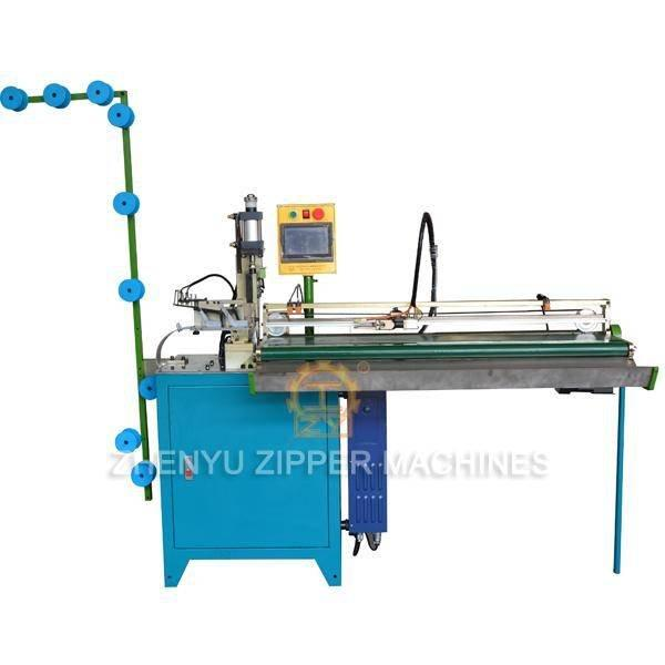 Automatic Pulling Ultrasonic Close End Zipper Cutting Machine