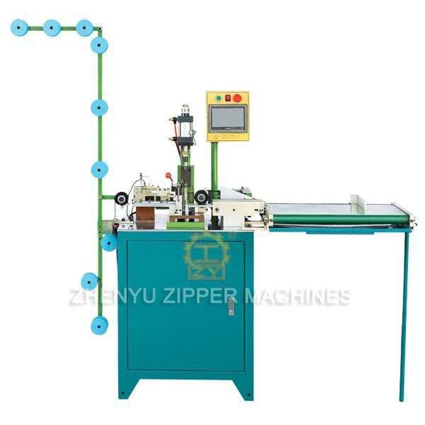 Auto Ultrasonic Zipper Zig Zag Cutting Machine ZY-707-B