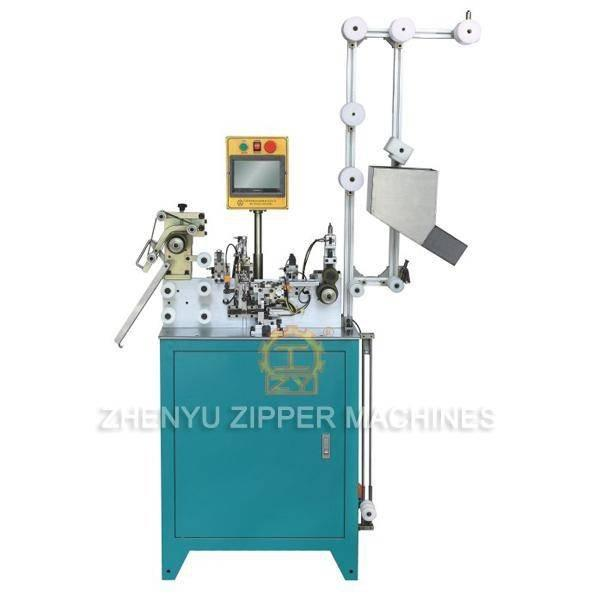 Auto Plastic Zipper Pin and Box Joining Machine ZY-605R