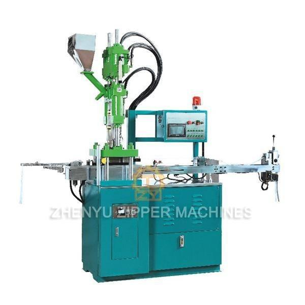 Auto Plastic Zipper Injection Molding Machine (Derlin Teeth Injected Machine) ZY-601R