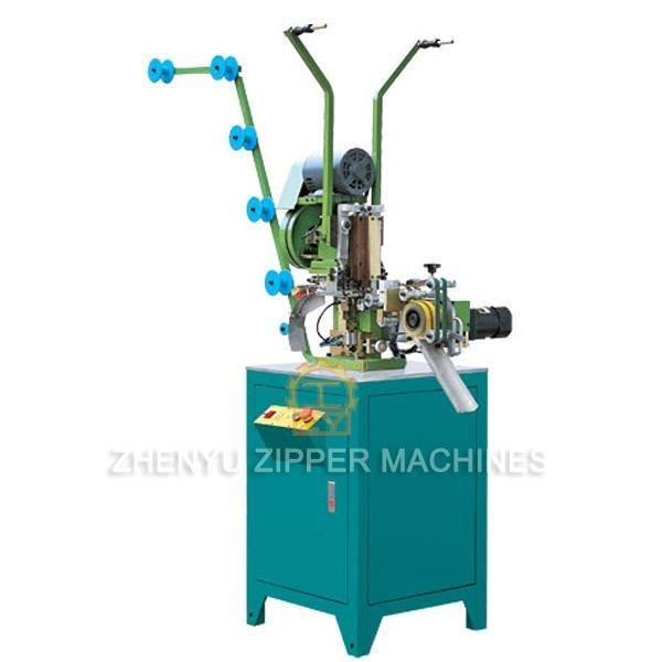 Auto Metal Zipper Top Stop Setting Machine