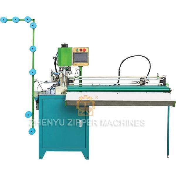 Automatic Pulling And Ultrasonic Open End Zipper Cutting Machine