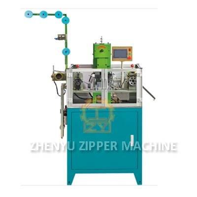 Auto Metal Zipper Gapping And Stripping Machine ZY-105M-F