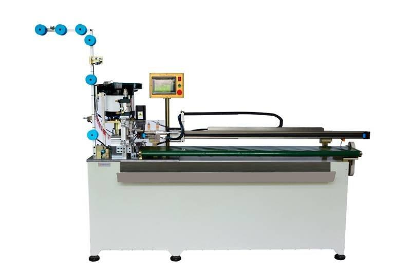 Auto Coil Nylon Zipper Making Machine