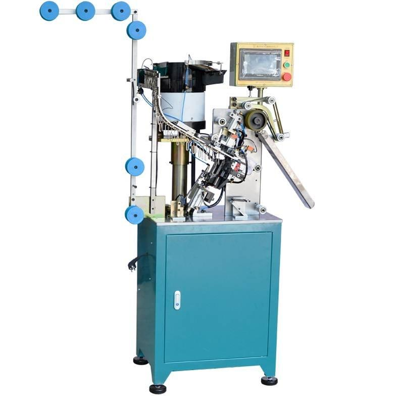 Auto Zipper Slider Mounting Machine with Big Fancy Puller ZY-705-B