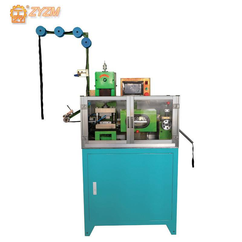 Automatic Plastic Steel Zipper CNC Gapping & Stripping Machine ZY-101R-C