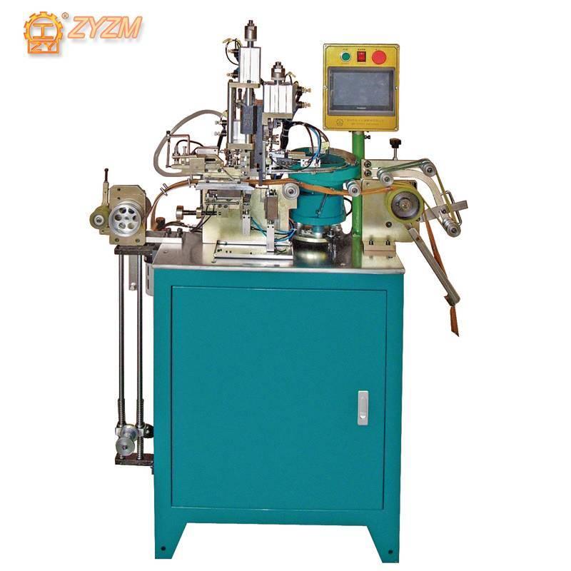 Automatic Metal Particles Double Top Stop Zipper Machine ZY-409M