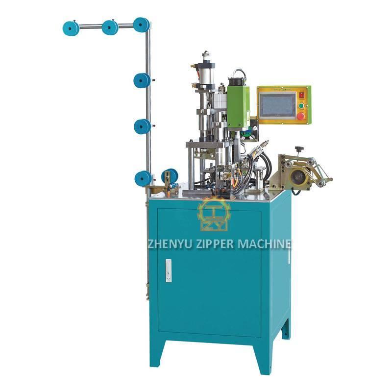 Automatic Nylon Zipper U Type Double Top Stop Machine ZY-212N