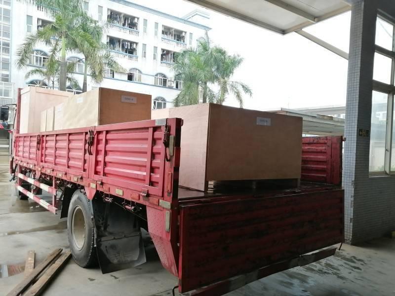 First Shipment Of Zipper Machine Is Effected