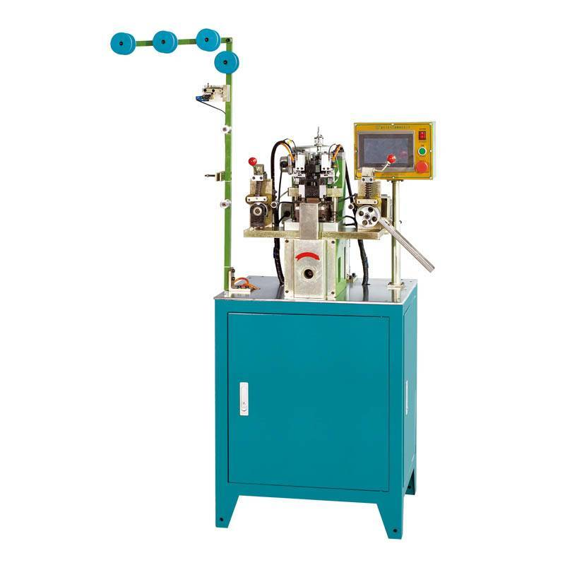 Automatic Nylon Zipper Gapping & Stripping Machine ZY-102N-G