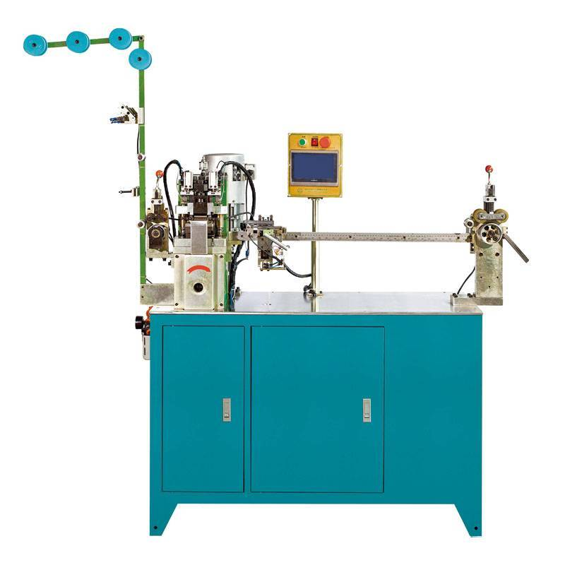 Full-auto Nylon Zipper Gapping & Stripping Machine (two-way) ZY-102N-E