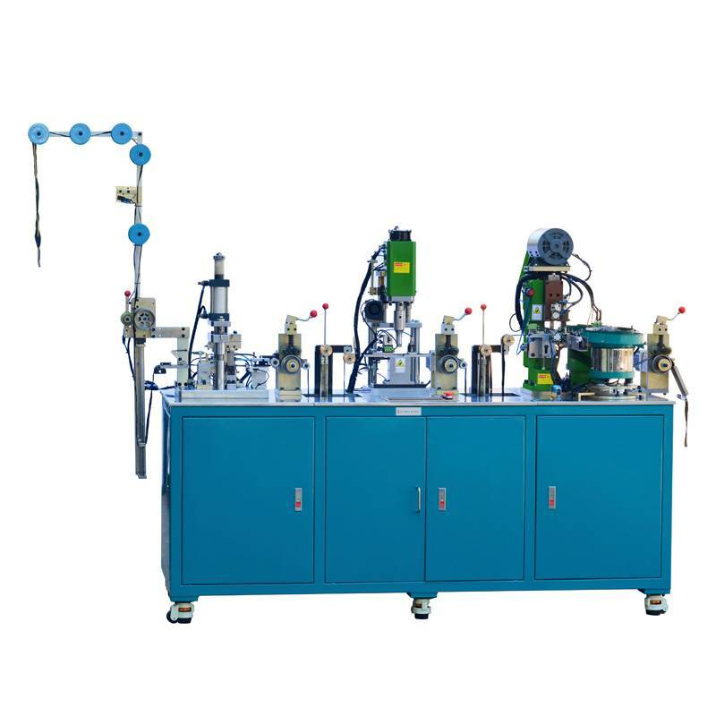 Automatic Nylon Film Sealing, Ultrasonic Punching, Pin-Box Pressing Machine