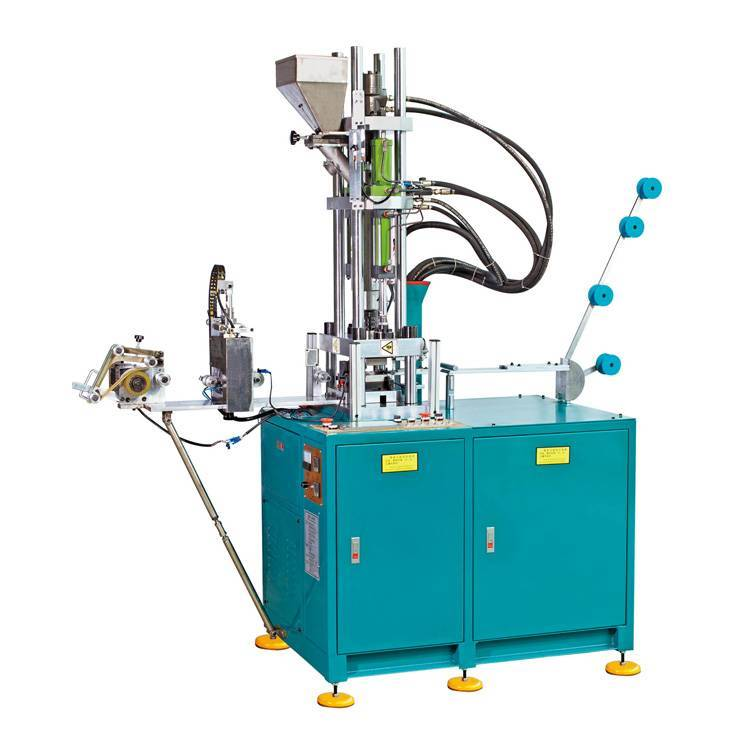 Auto Closed End Injection Machine (Zipper Bottom and Top Stop Injection Machine) ZY-604R-B