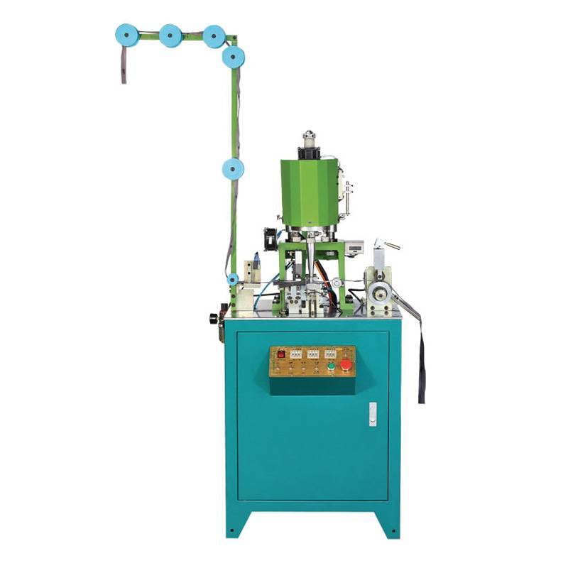 Automatic Nylon Zipper Ultrasonic Filament Bottom Stop Welding Machine ZY-208N