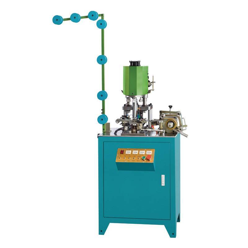 Full-automatic Invisible Zipper Wire Welding top Stop Machine ZY-207I-C