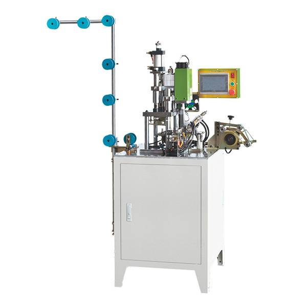 ZY-212N Fully Automatic Nylon U Type Double Top Stop Machine