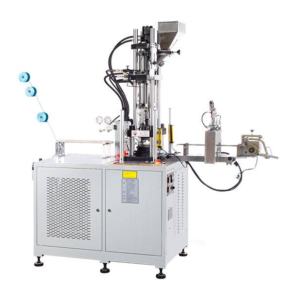 ZY-604R-B AUTO PLASTIC TOP AND BOTTOM STOP INJECTION MACHINE