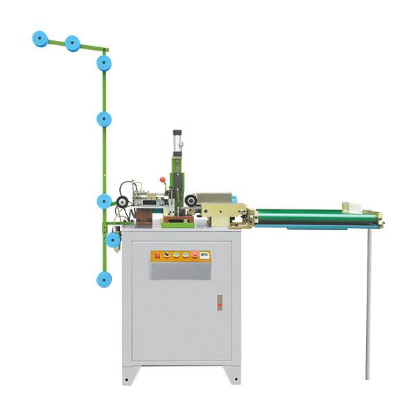 ZY-708 AUTO CLOSED-END AIR-OPERATED ZIG ZAG CUTTING MACHINE