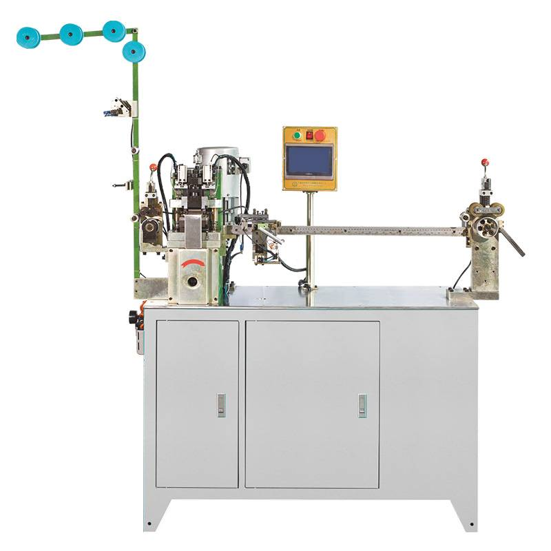 ZY-102N-E Fully Automatic Nylon Micro-Computer Two-way Gapping & Stripping Machine