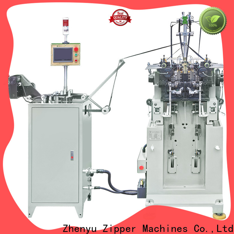 Wholesale metal zipper making machine Supply for apparel industry