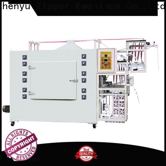 Zhenyu High-quality metal zipper ironing machine factory for zipper manufacturer
