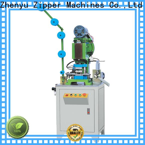 Zhenyu metal zipper hole punching machine Supply for zipper production