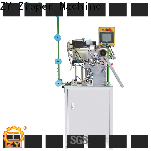 Top china metal slider mounting top stop machine manufacturers for apparel industry