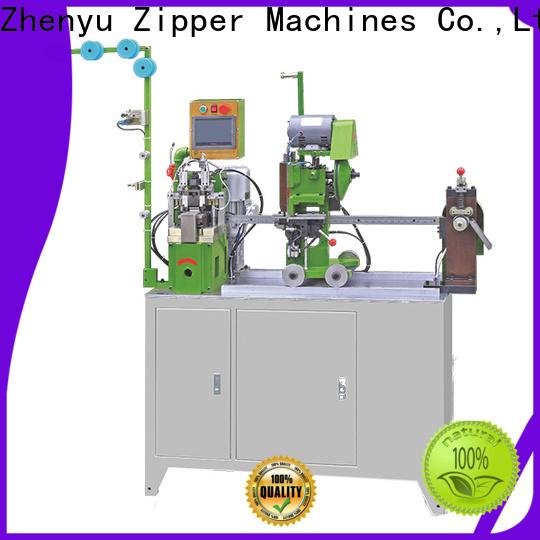Zhenyu bottom stop zipper machine for business for zipper manufacturer