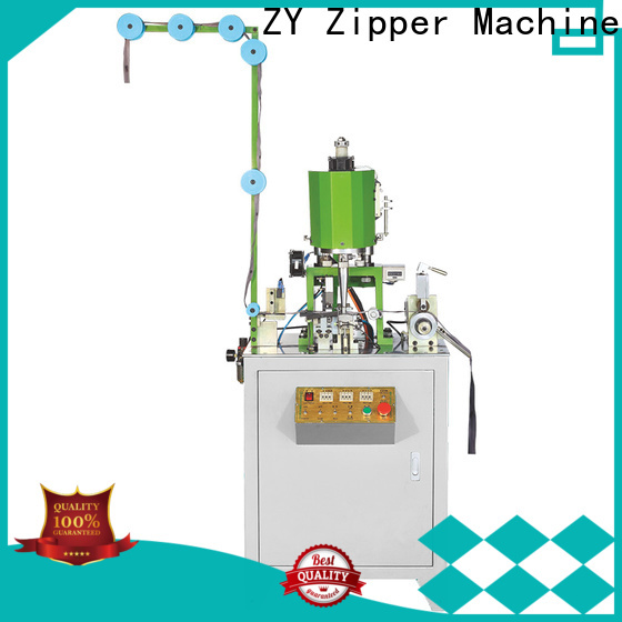 Zhenyu metal zipper bottom stop machine factory for zipper production