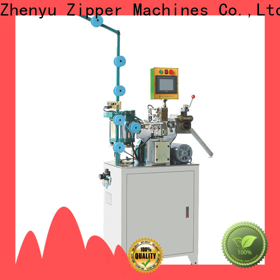 Zhenyu metal H bottom stop machine manufacturers for zipper manufacturer