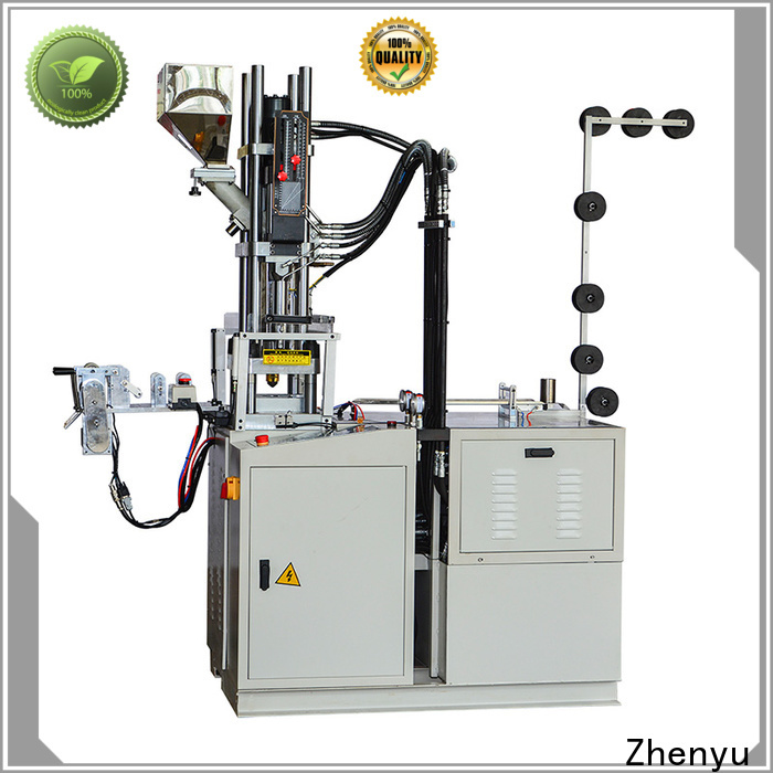 News plastic injection moulding machine factory for molded zipper production