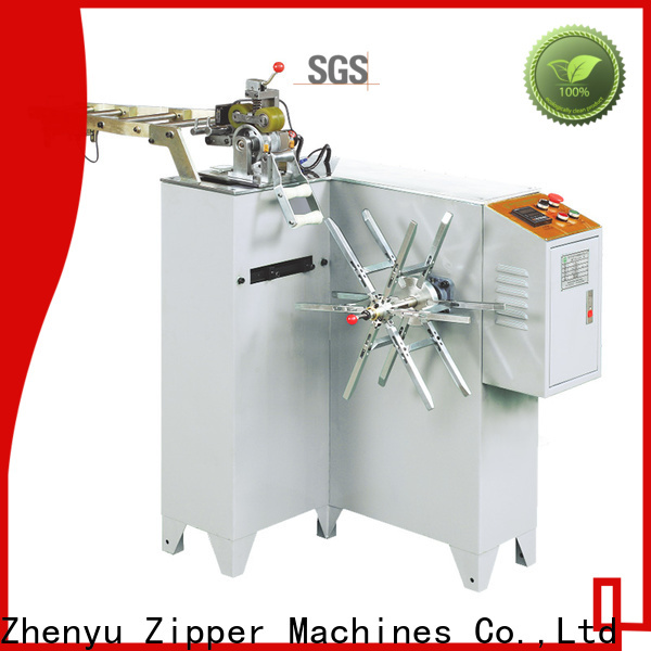 Top nylon zipper coiling machine manufacturers for zipper manufacturer