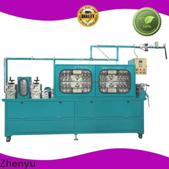 Zhenyu News metal zipper polished machine company for zipper manufacturer