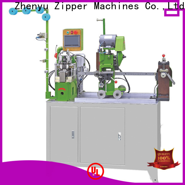 Zhenyu Best metal zipper stripping machine factory for zipper production