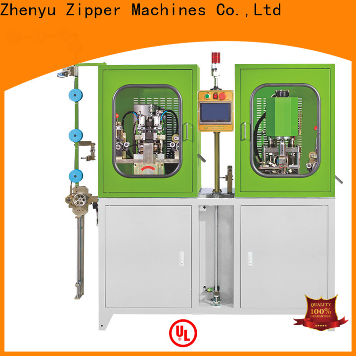 Zhenyu metal zipper stripping machine factory for zipper production