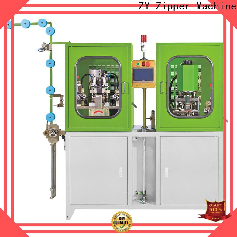 Zhenyu nylon zipper teeth cleaning machine company for apparel industry