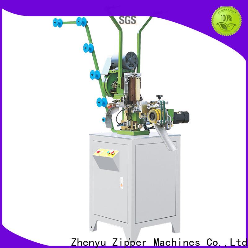 Zhenyu nylon zipper machine factory for apparel industry