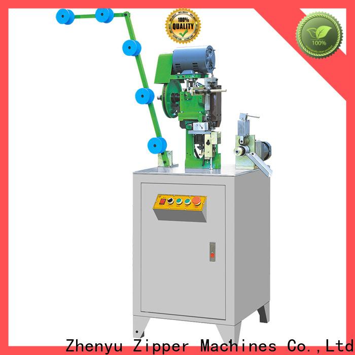 Latest metal zipper bottom stop machine manufacturers manufacturers for zipper production