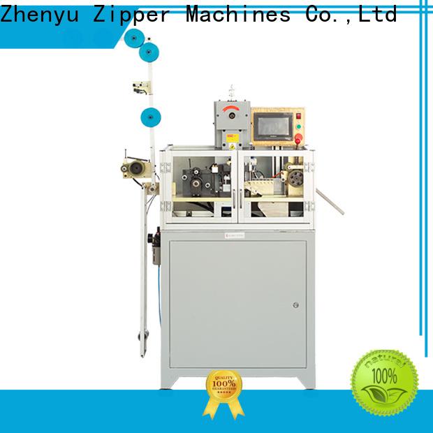 Zhenyu metal zipper stripping machine Suppliers for zipper manufacturer